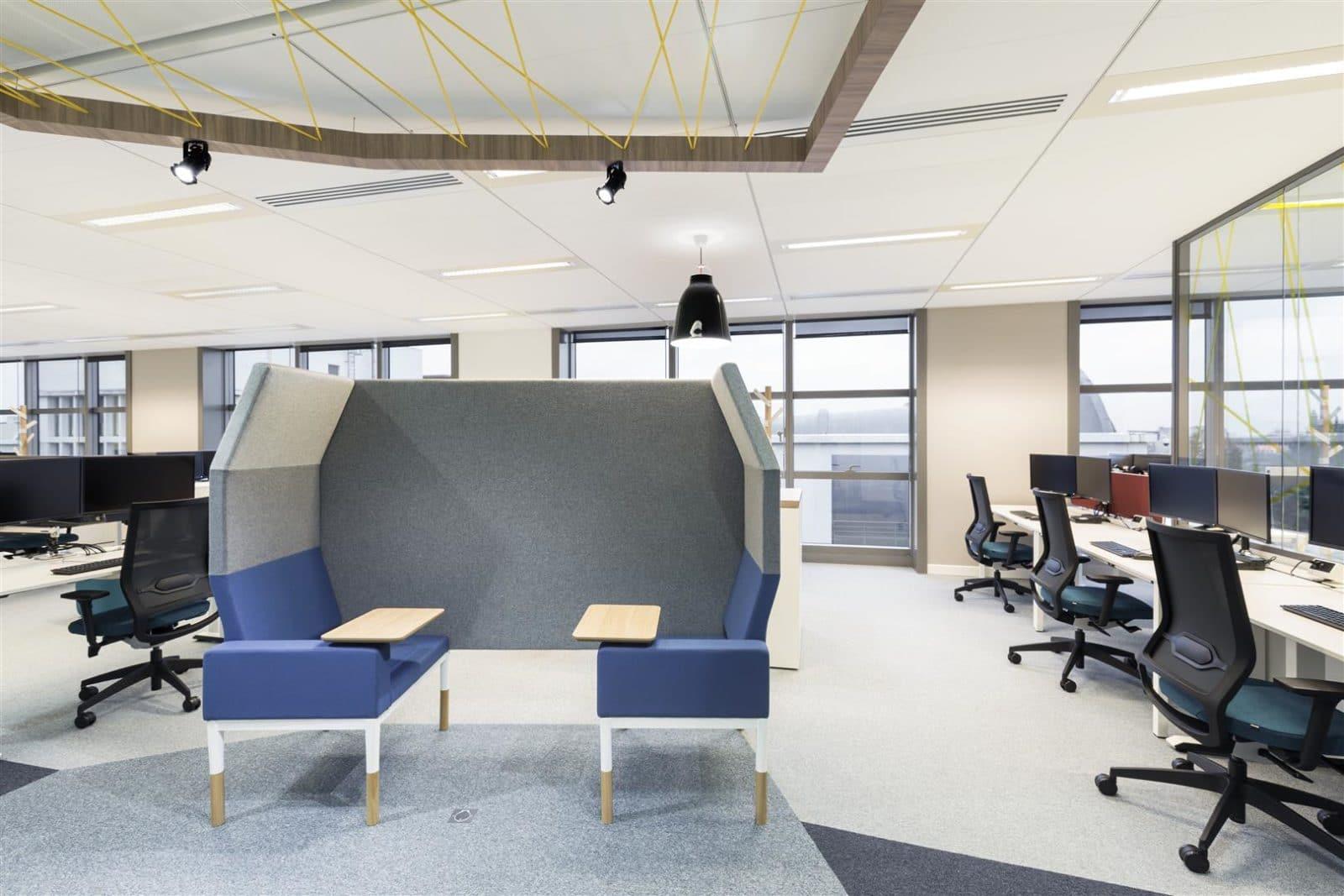 Les Enjeux Du0027un Aménagement Design Des Espaces De Travail